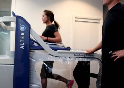 Cassie on the Alter G