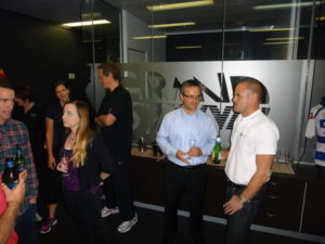 Clients at our grand opening